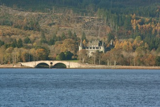 Inveraray Castle on a day out from Appletree Cottage Loch Lomond