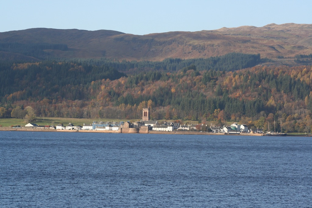 Inveraray on an outing from Appletree Cottage, Loch Lomond