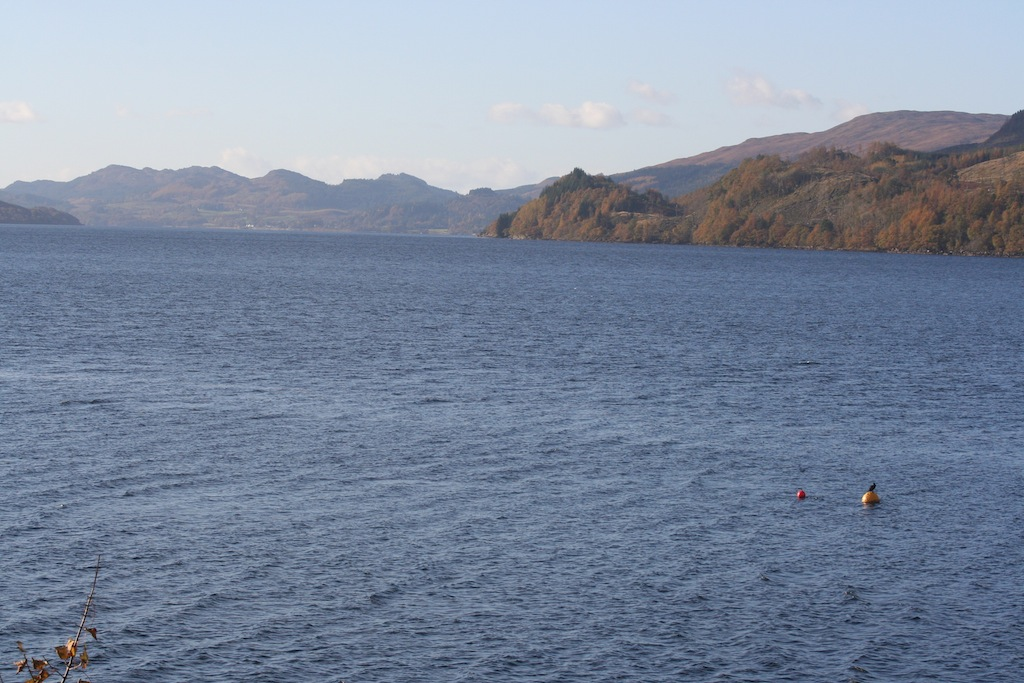 Loch Fyne from the south shore on a day out from Appletree Cottage Loch Lomond