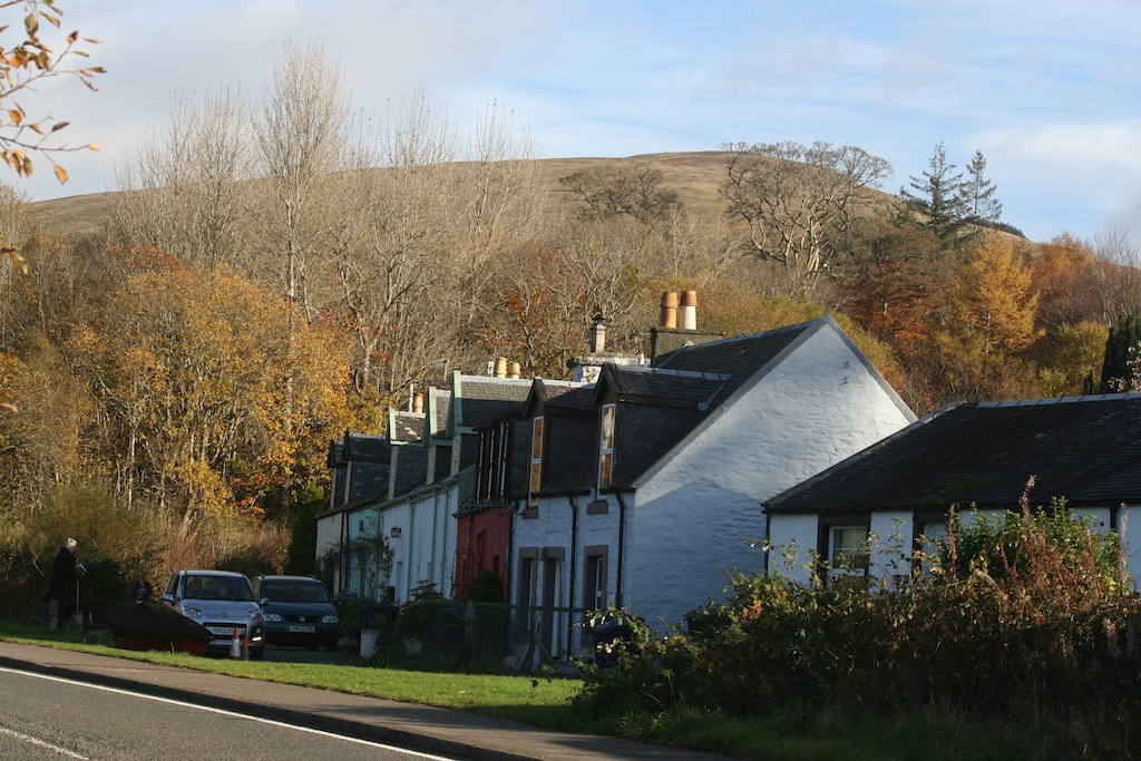 Struchur on a day out from Appletree Cottage, Loch Lomond and Trossachs National Park