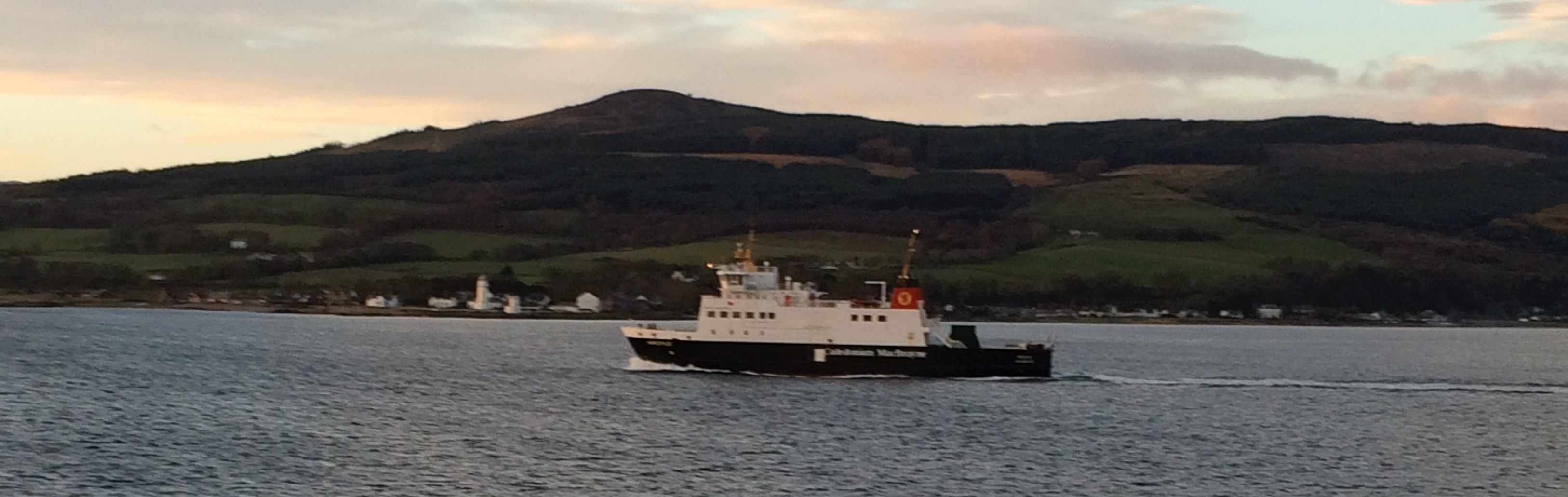 Rothesay Ferry passing Toward Lighthouse
