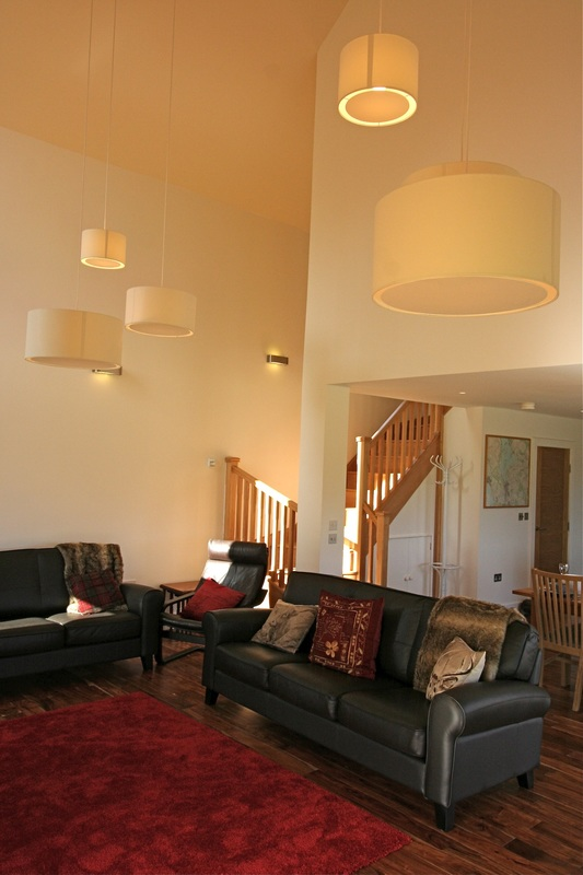 Luxury self catering lodge interior