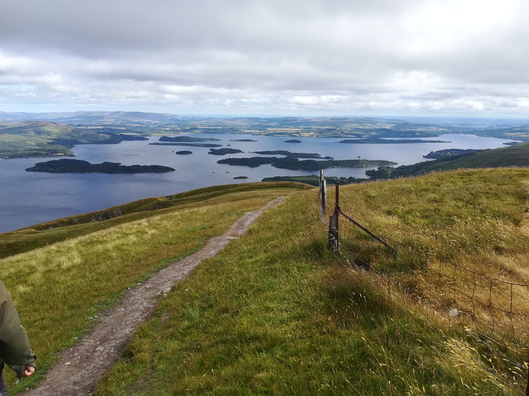 Walking day out from Appletree Luxury Holiday Rental Loch Lomond