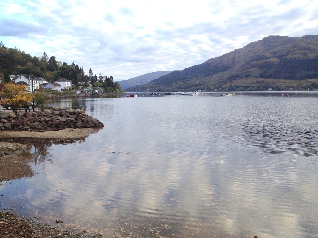 View from Lochgoilhead on an excursion from Appletree Cottage, Croftamie