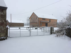 Appletree Self Catering Cottage Loch Lomond in the snow