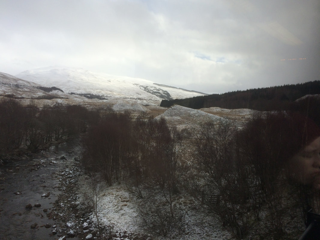 Between Crianlarich and Tyndrum
