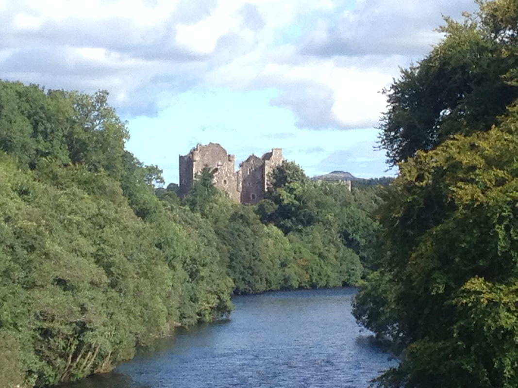 Doune Castle near Appletree Cottage Loch Lomond