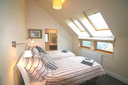 Loch Lomond four star self catering master bedroom