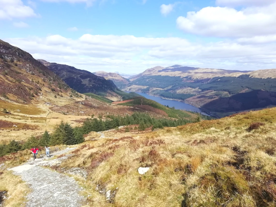 Ben Ledi, hill walking Scotland, Loch Lubnaig