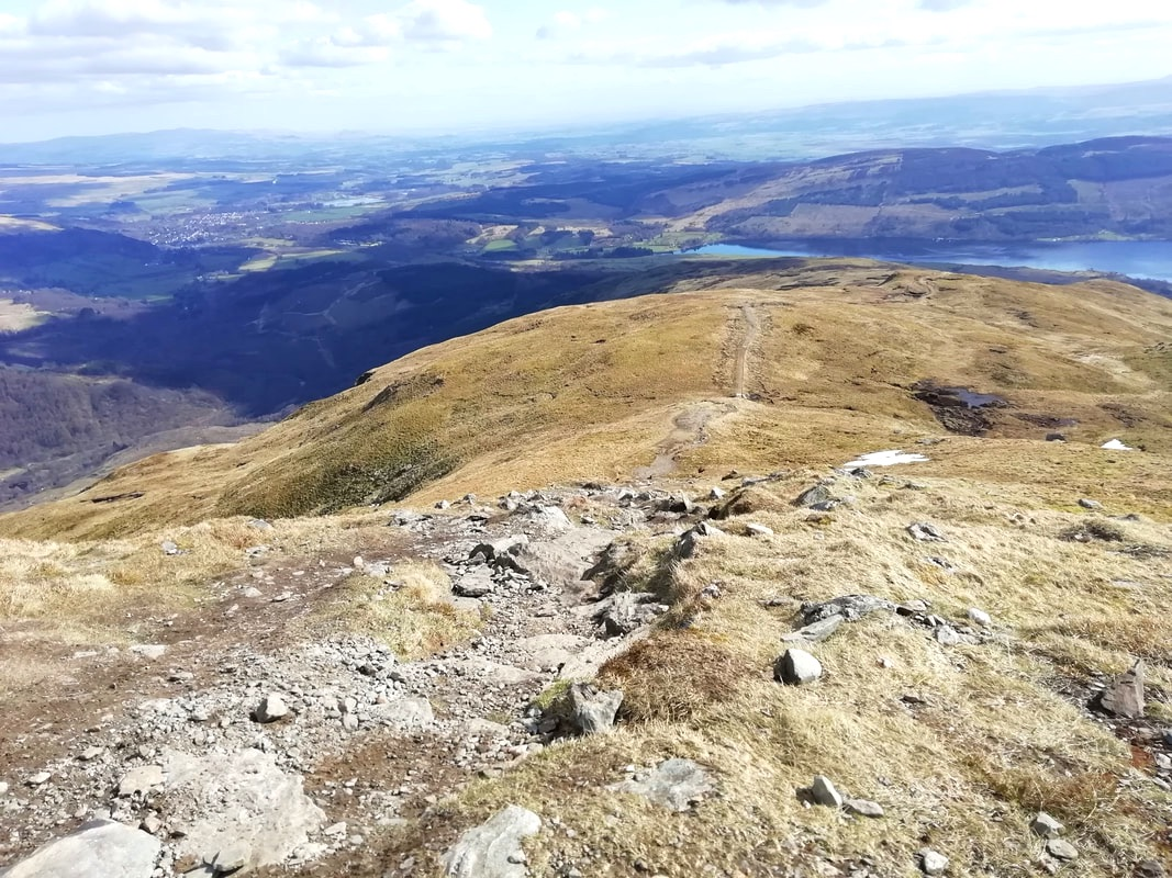 Ben Ledi, walking in the Trossachs