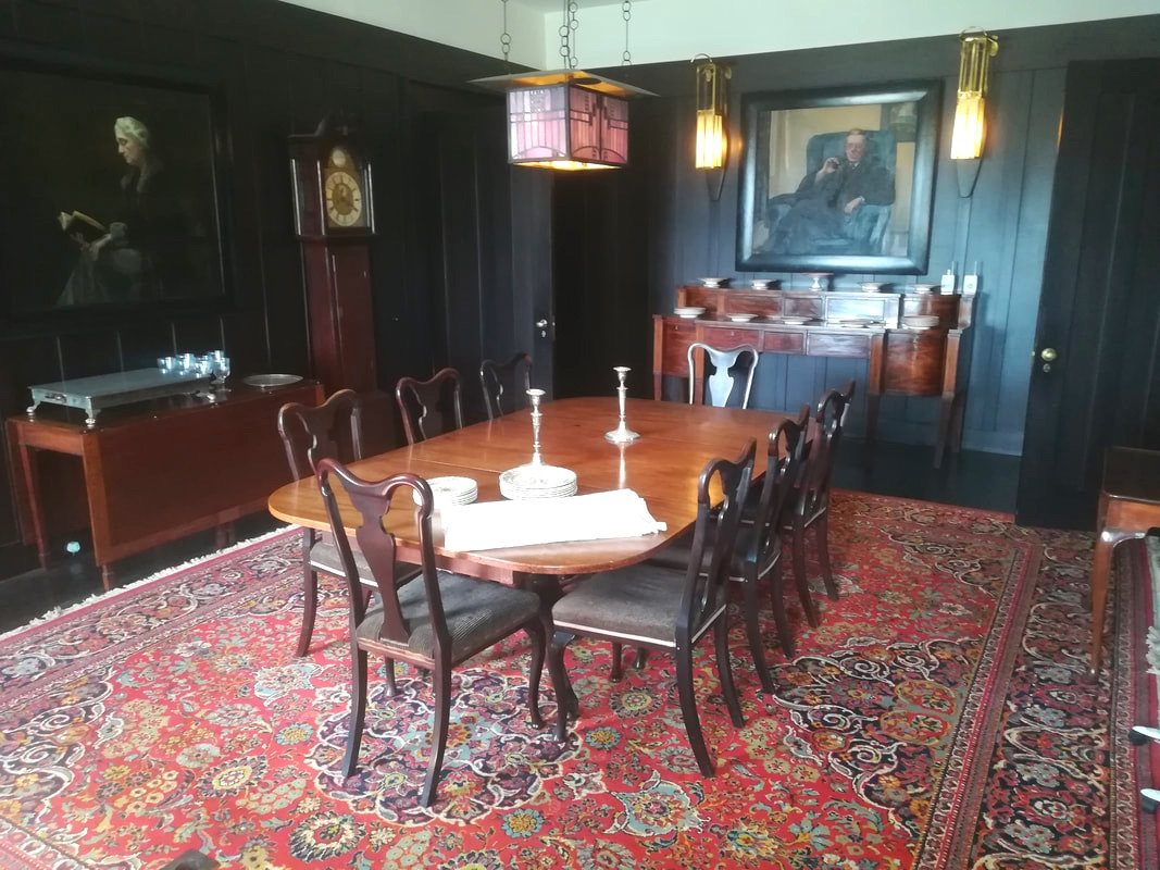Hill House dining room